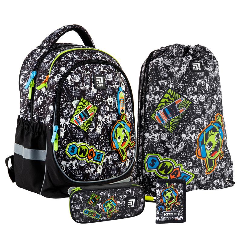 Школьный набор Kite.Ортопедический рюкзак пенал сумка SET_K21-700M-1