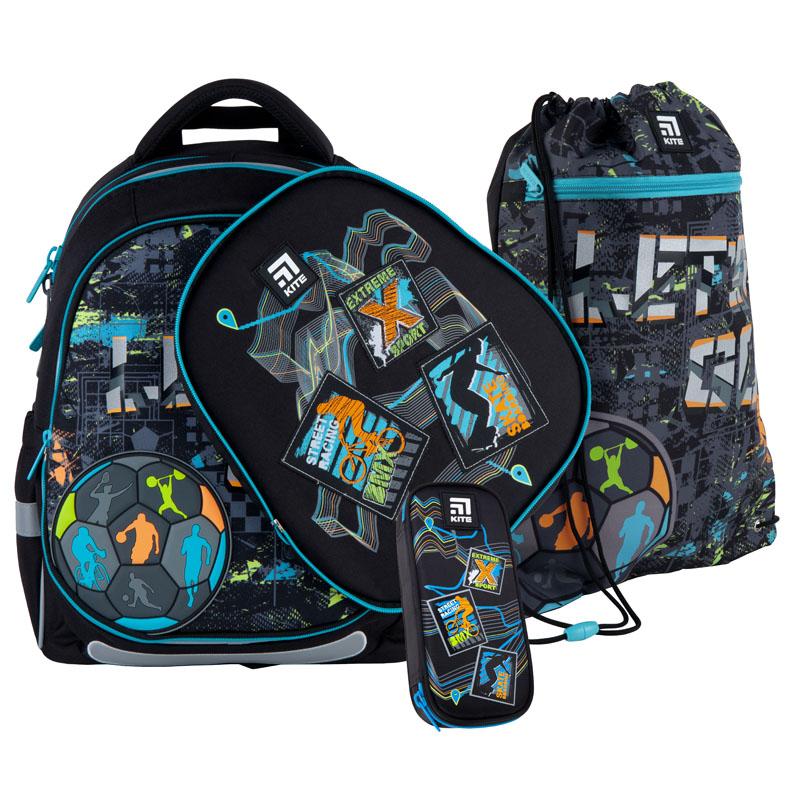 Школьный набор Kite.Ортопедический рюкзак пенал сумка SET_K21-700M(2p)-2