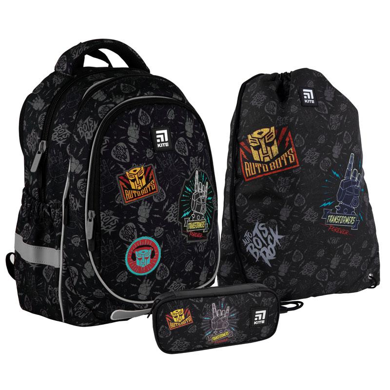Школьный набор Kite.Ортопедический рюкзак пенал сумка SET_TF21-700M
