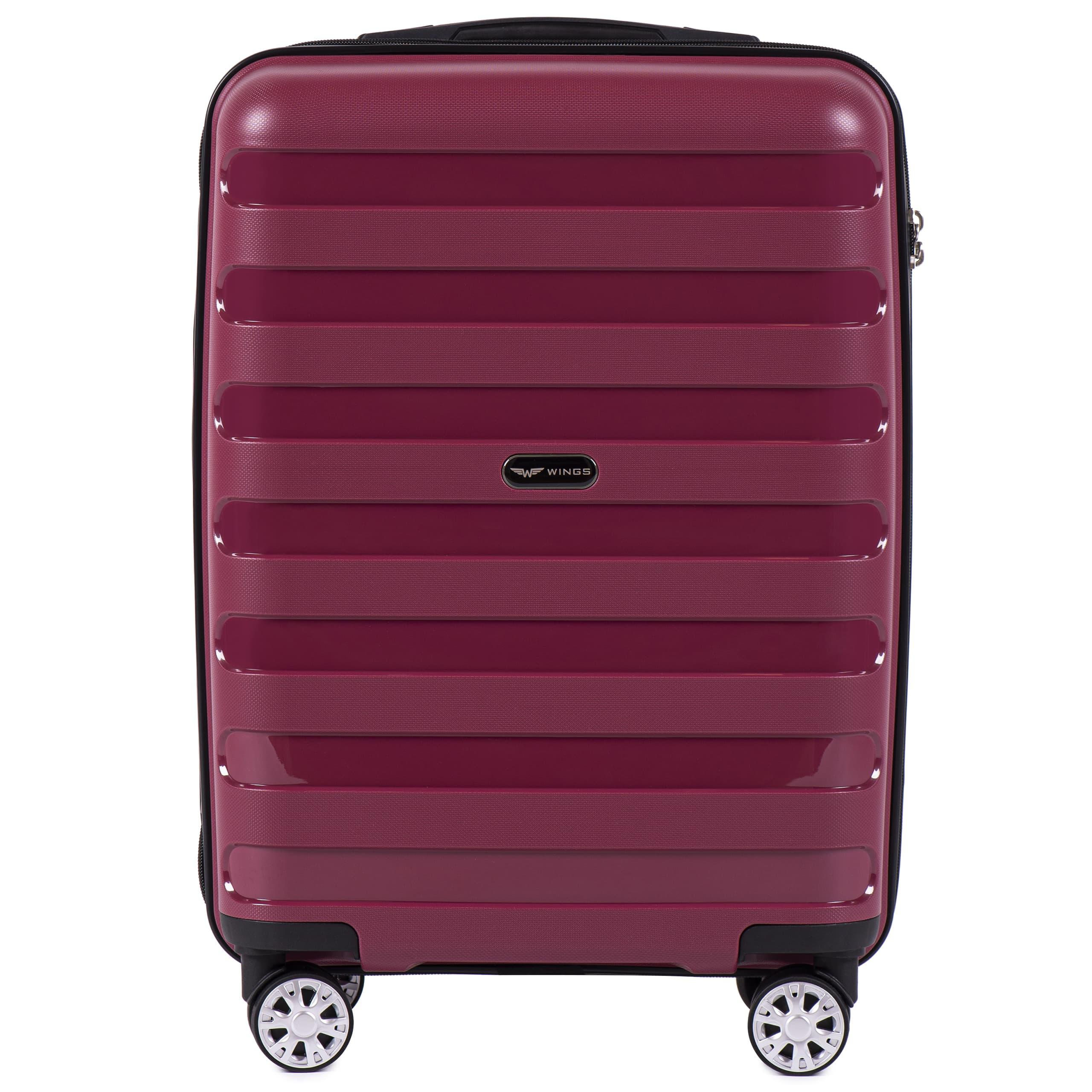 Маленький чемодан для ручной клади WINGS Prime S PP-07 Red! ДЛЯ 7-10 кг!