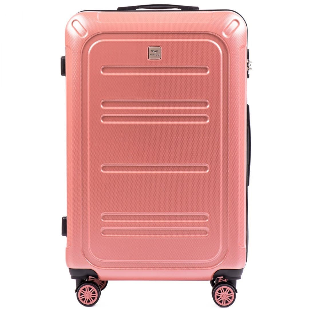 Valiza mare WINGS din POLICARBON pe 4 roti !Pt bagaj,pina la 23 kg