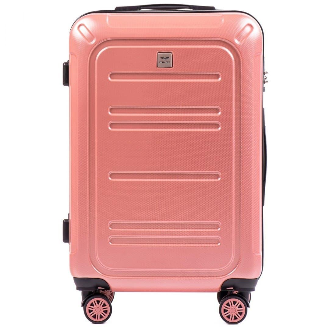 Valiza medie WINGS din POLICARBON pe 4 roti !Pt bagaj,pina la 18 kg