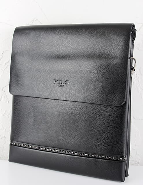 Мужская сумка из искусственной кожи 88838-3 Black
