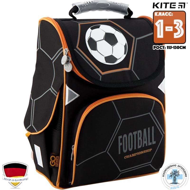 Каркасный Рюкзак Школьный GoPack  (GO19-5001S-8) Для Младших классов (1-3)