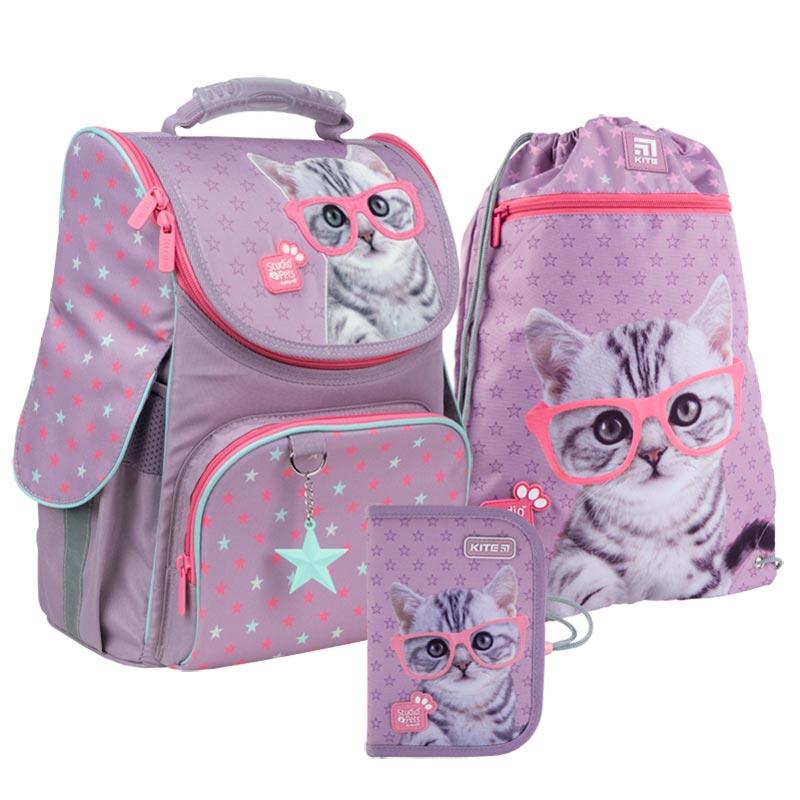 Школьный набор Kite  рюкзак, пенал, сумка SET_SP21-501S
