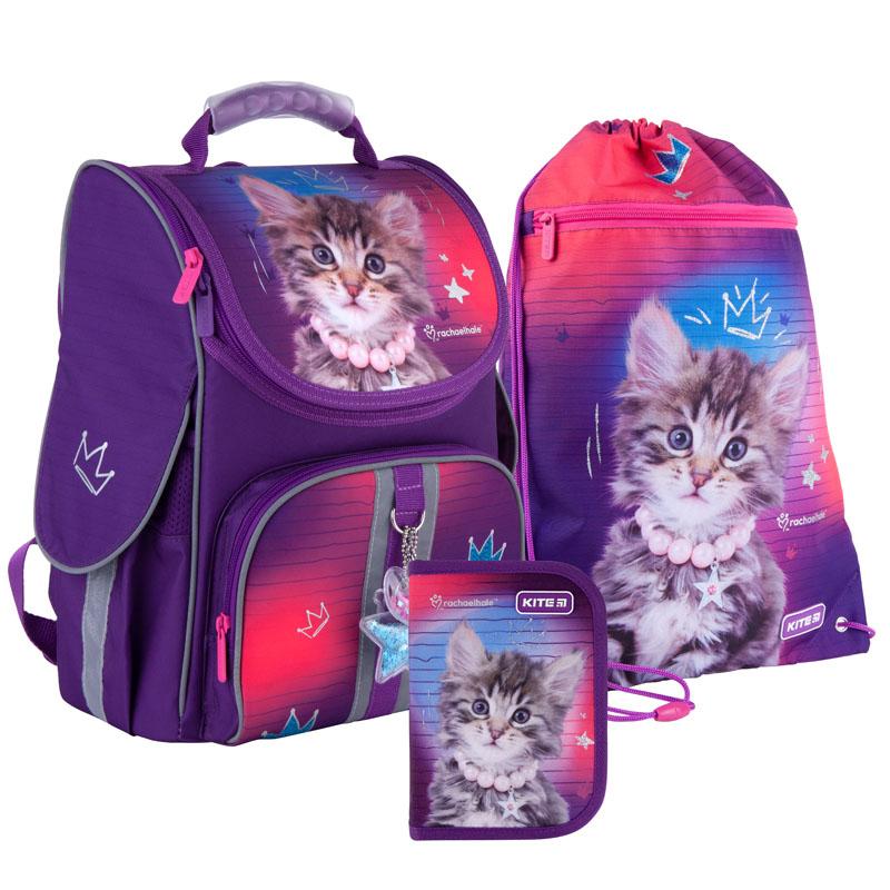 Школьный набор Kite  рюкзак, пенал, сумка SET_R21-501S