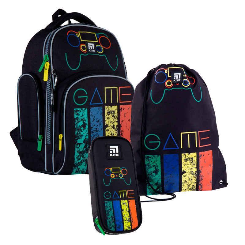 Школьный набор Kite.Ортопедический рюкзак пенал сумка SET_K21-706M-1
