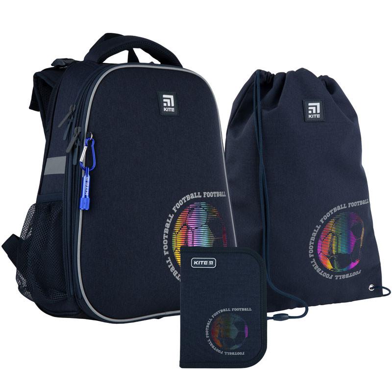 Школьный набор Kite.Ортопедический рюкзак пенал сумка SET_K21-531M-6