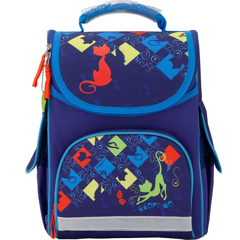 GO17-5001S-1 Рюкзак школьный каркасный