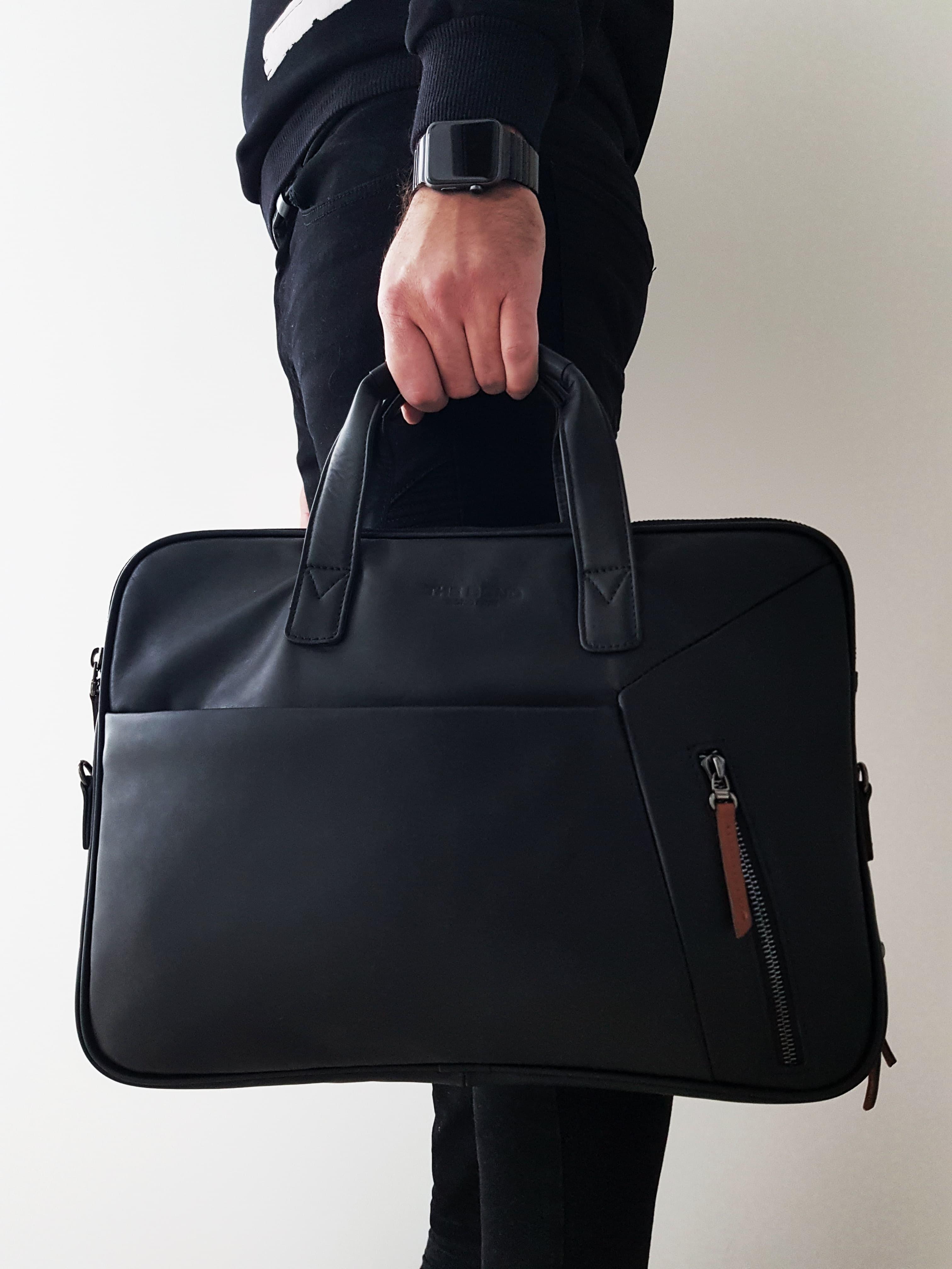 Мужская кожаная сумка BOND 1133-1