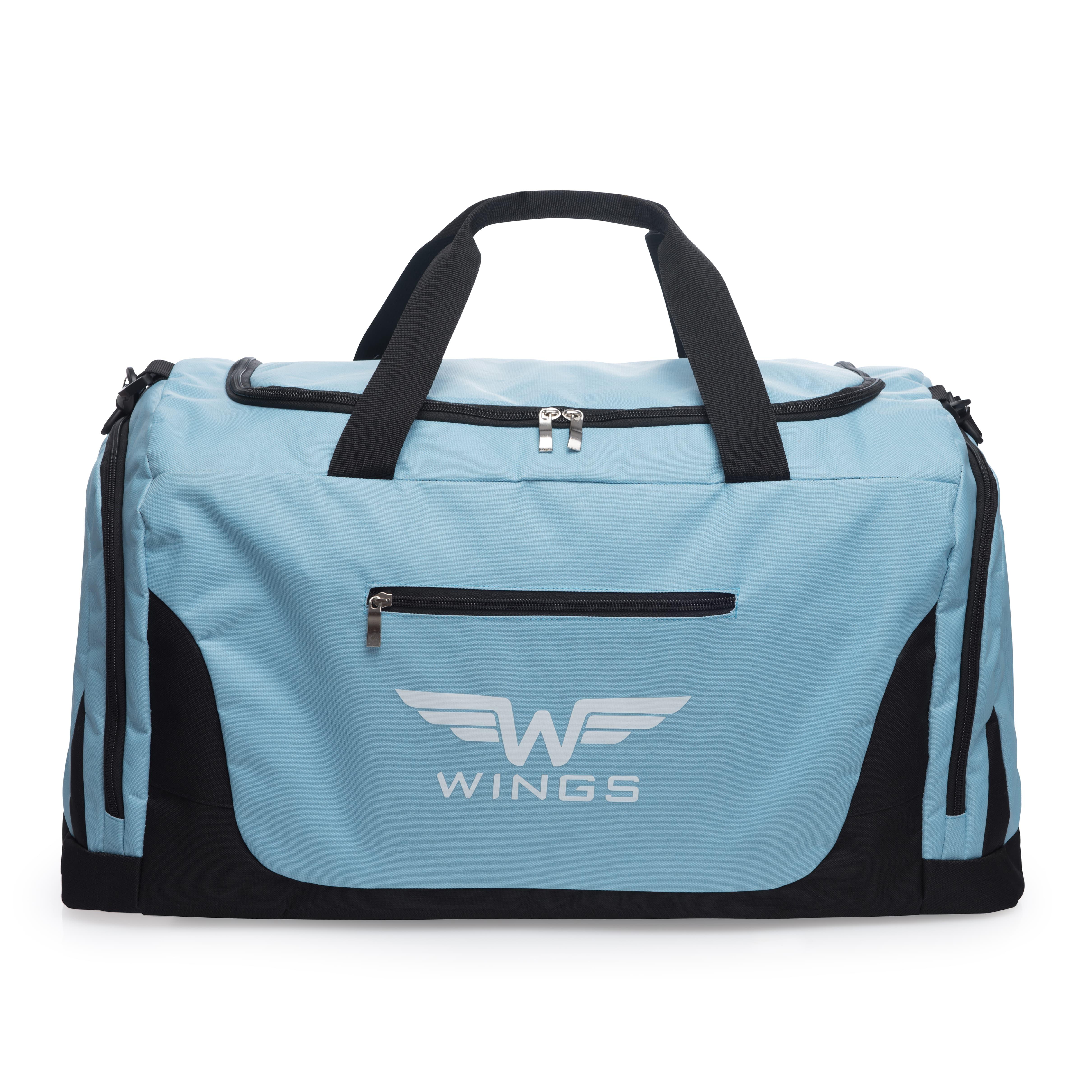 Дорожная сумка средная WINGS TB1005 M LIGHT BLUE