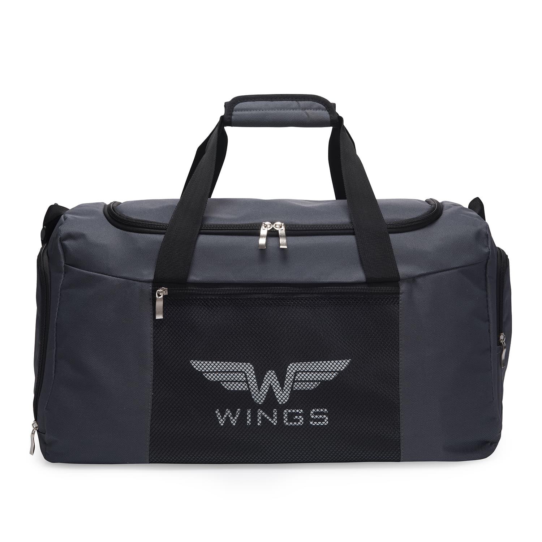 Дорожная сумка маленькая WINGS TB1003 S DARK GREY