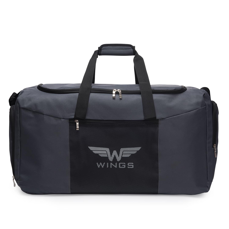 Дорожная сумка средняя  WINGS TB1003 M DARK GREY