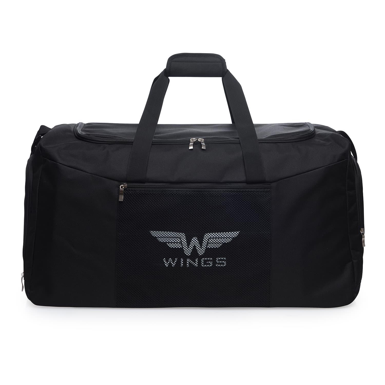 Дорожная сумка средняя  WINGS TB1003 M BLACK