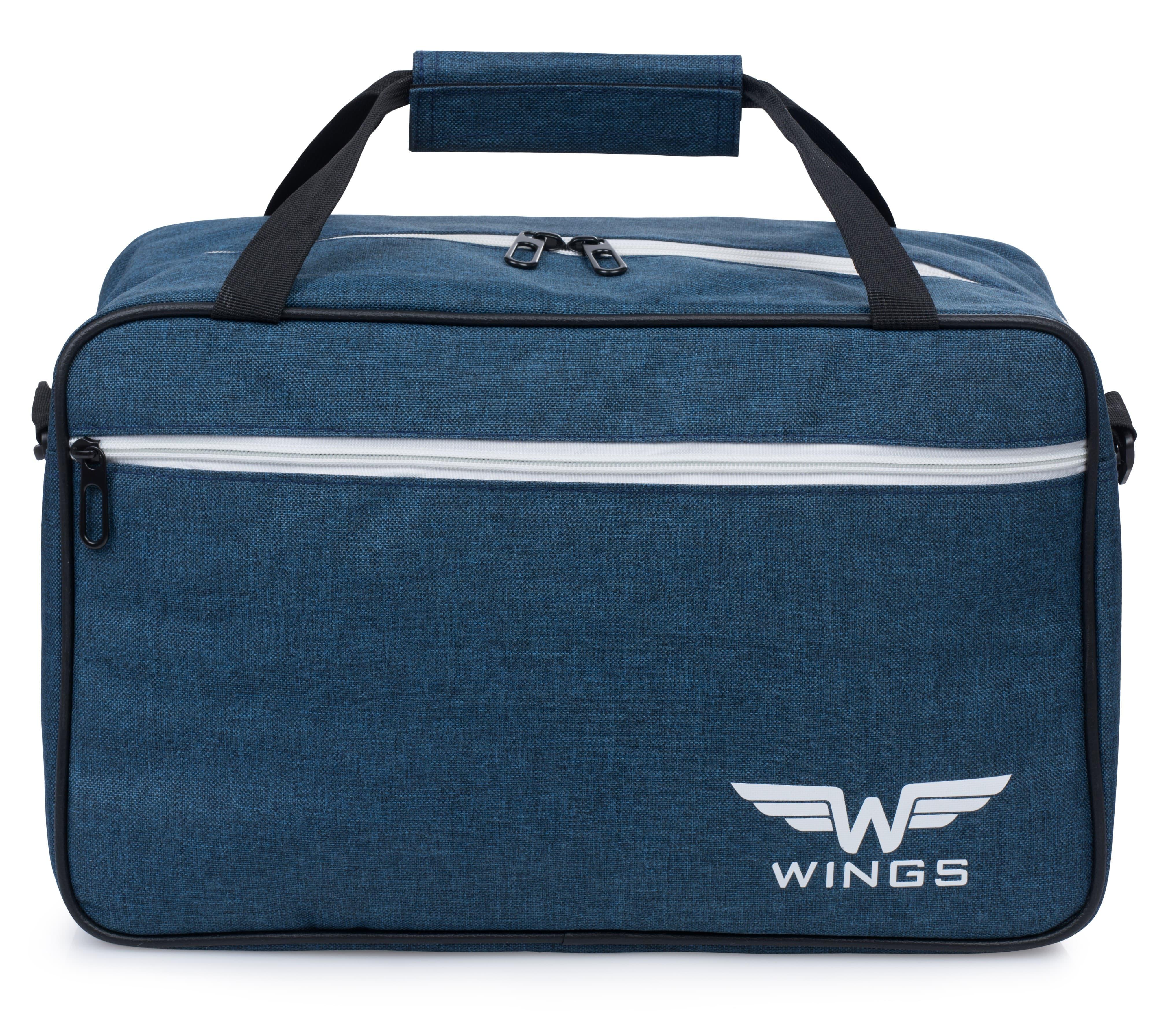 Дорожная сумка WINGS TB01 40x25x20 см ручная кладь RYANAIR и WIZZAR