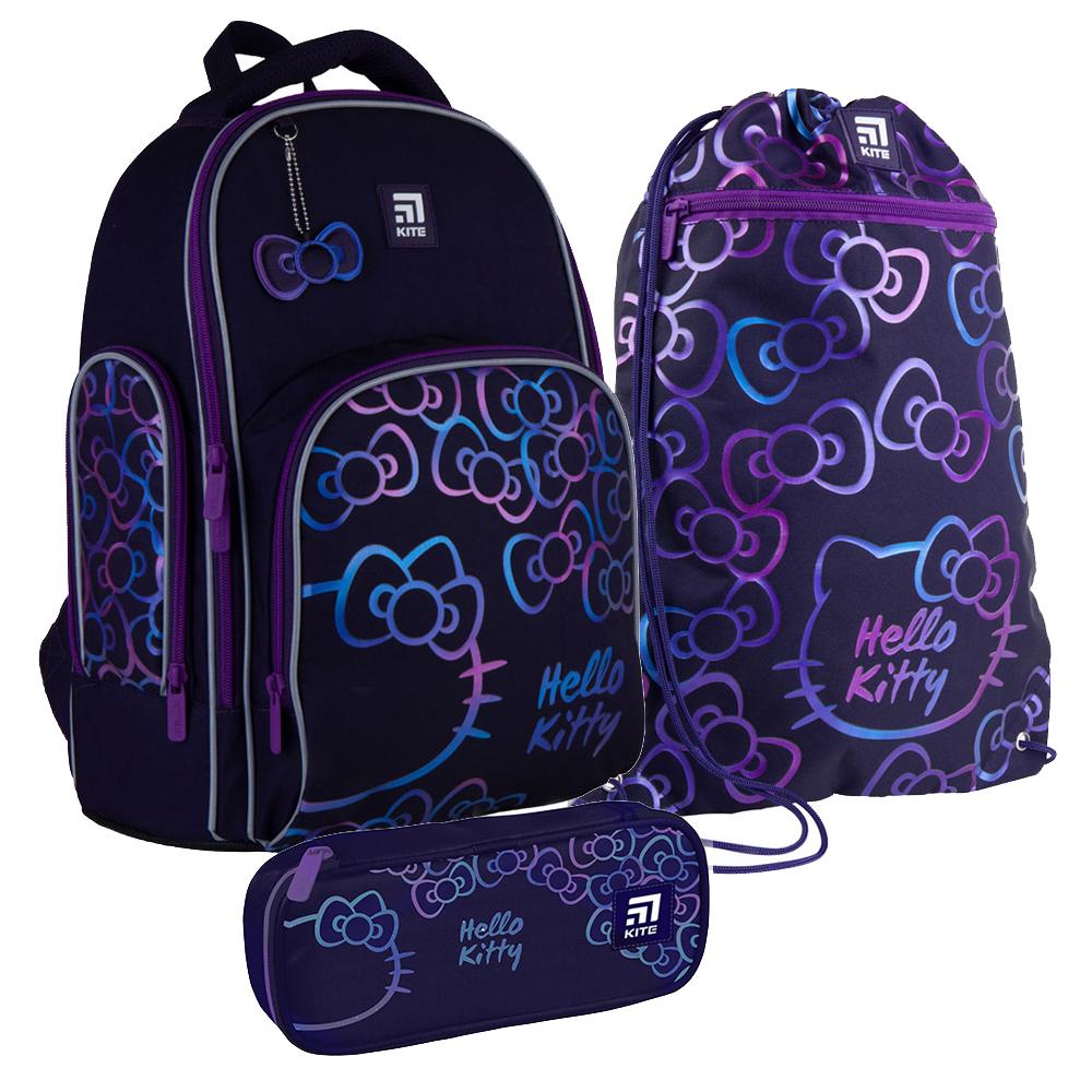 Школьный набор Kite.Ортопедический рюкзак пенал сумка SET_HK21-706M
