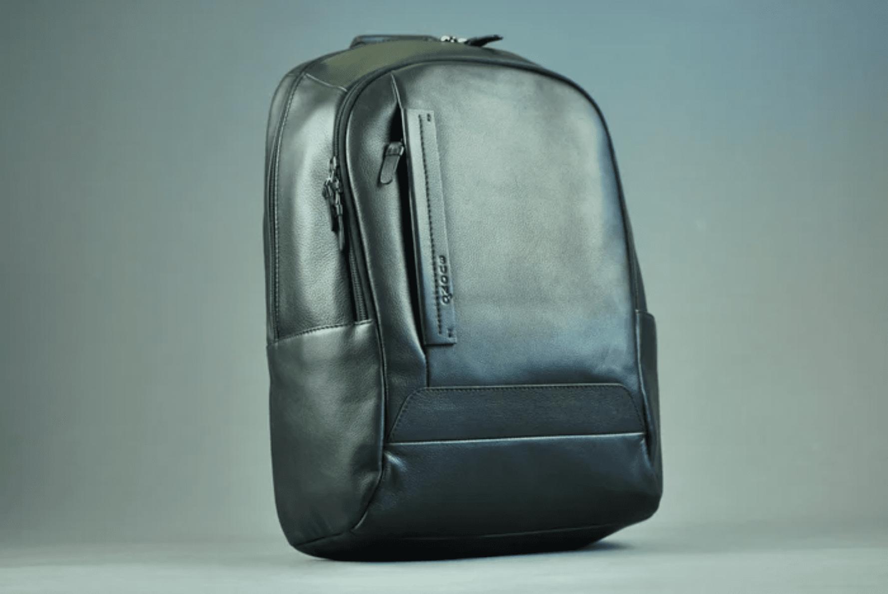 Мужская сумка из натурально кожи BOND 011-0838 BLACK