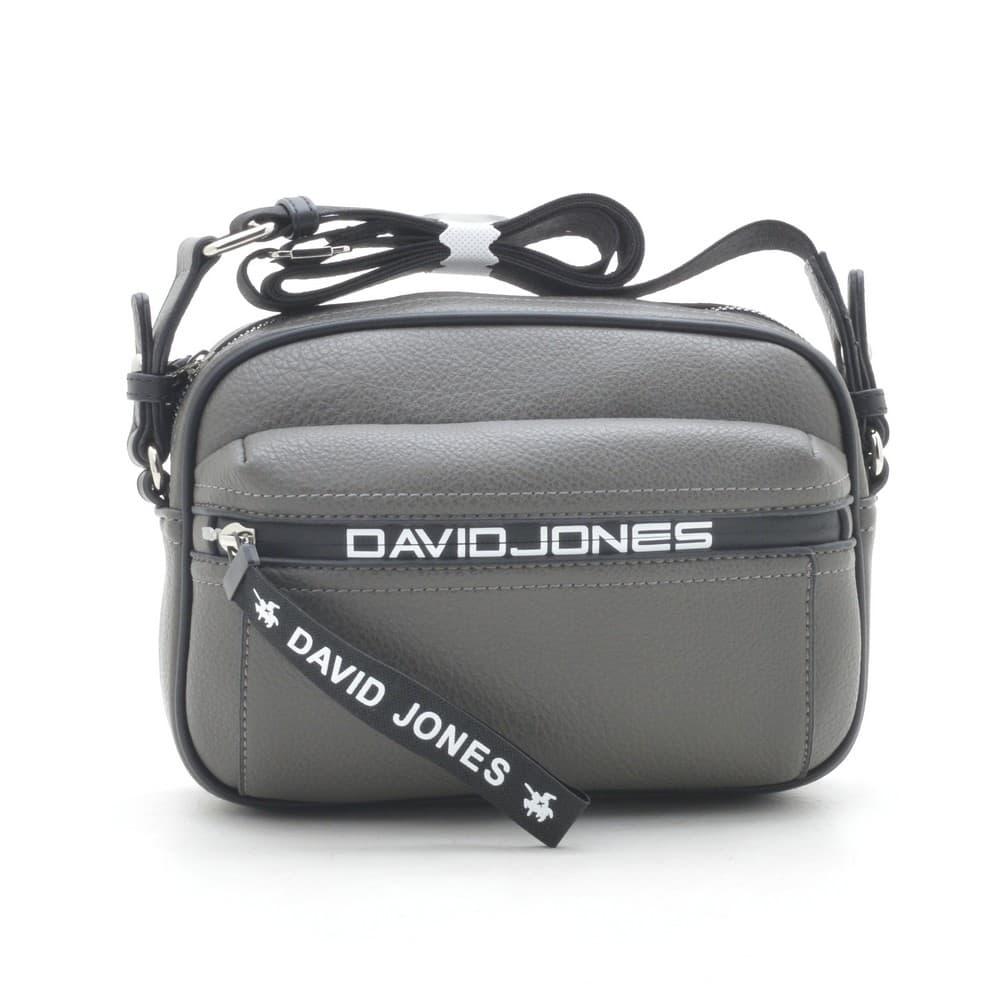 Клатч David Jones 6166-2T d. grey