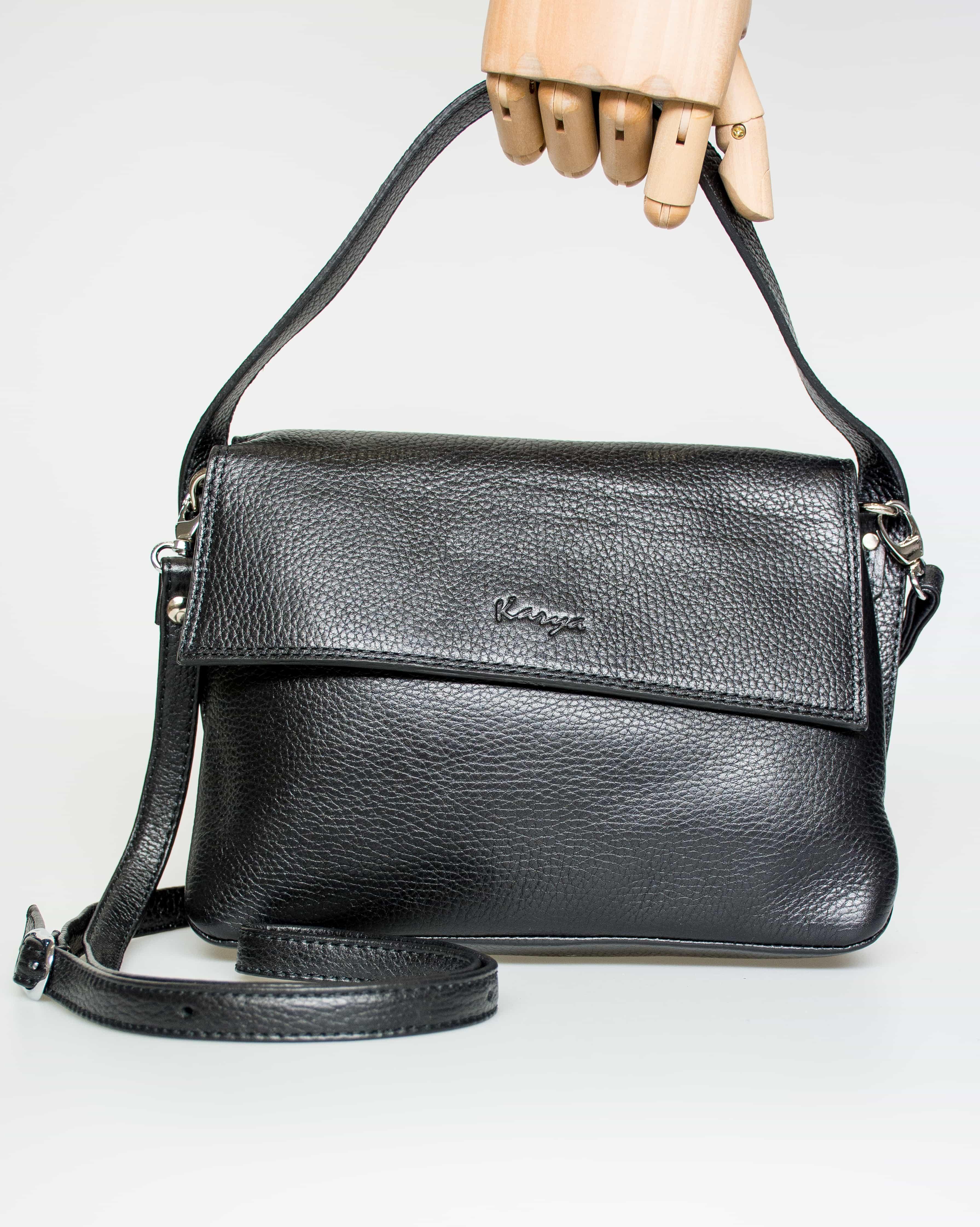 Женская кожаная сумка KARYA 0768-45