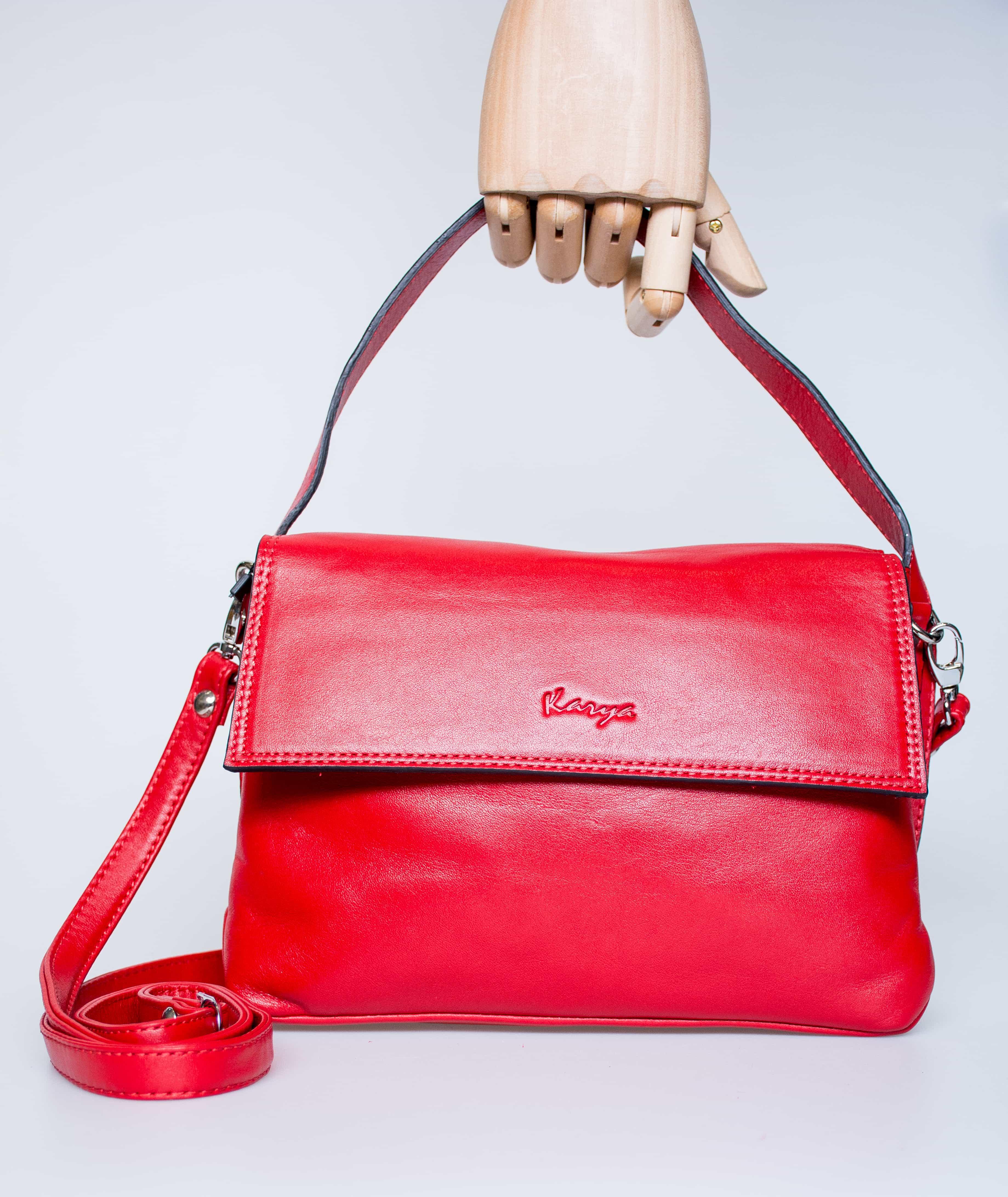 Женская кожаная сумка  KARYA 0768-46