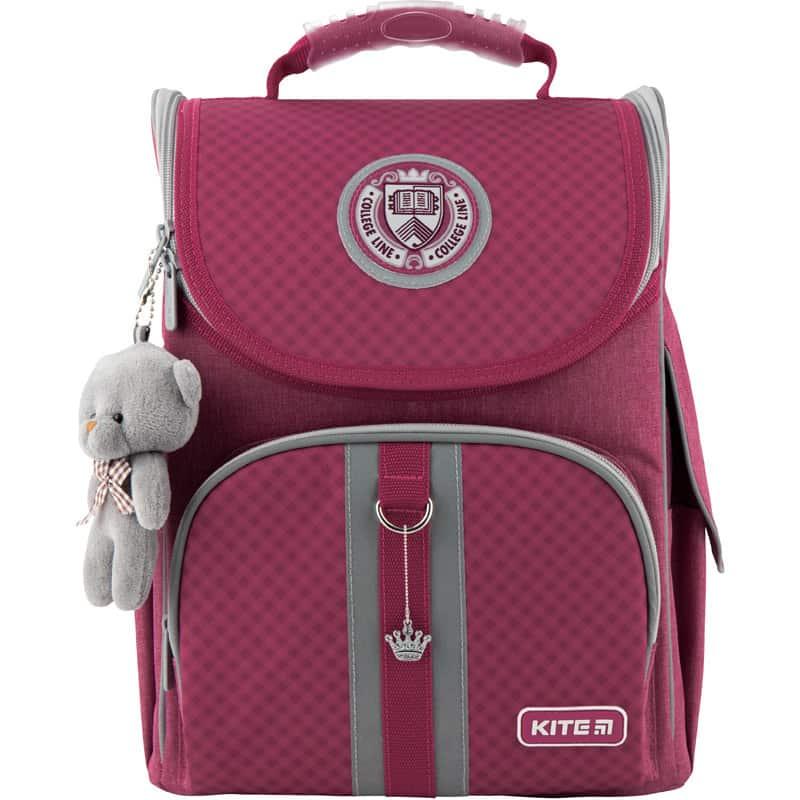Рюкзак школьный каркасный Kite Education College line pink K20-501S-10