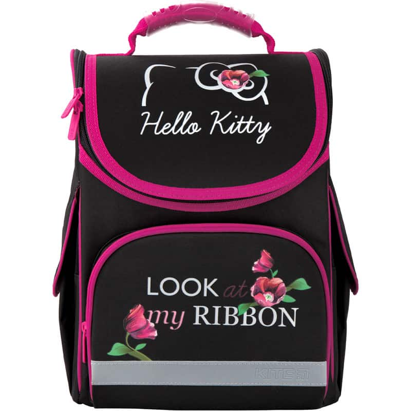 Ghiozdan ortopedic pt școală cu carcasa Kite Education Hello Kitty HK20-501S