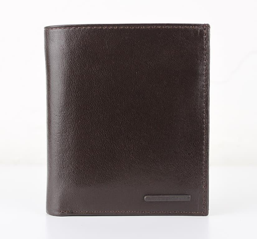 Мужской кошелек из натуральной кожи.CE1431 Coffe