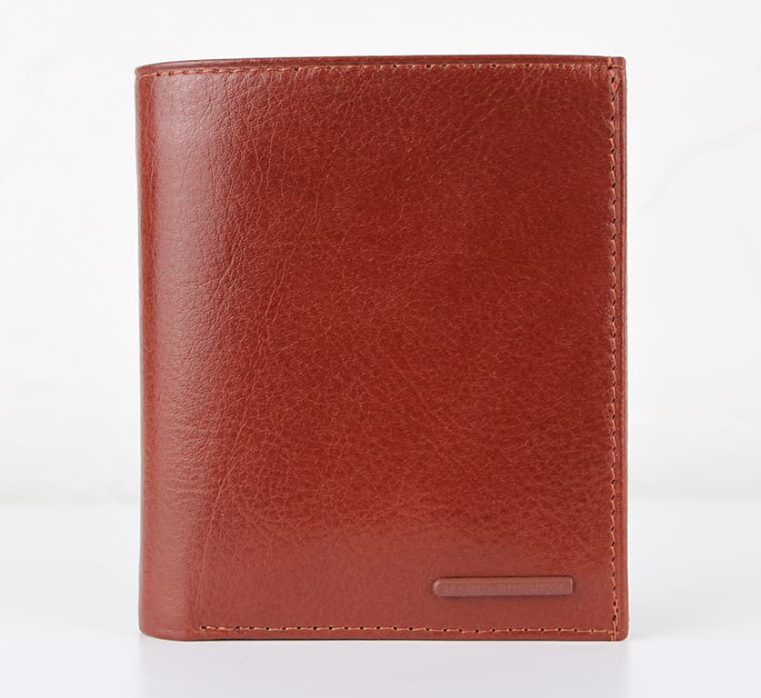 Мужской кошелек из натуральной кожи.CE1431 Taba
