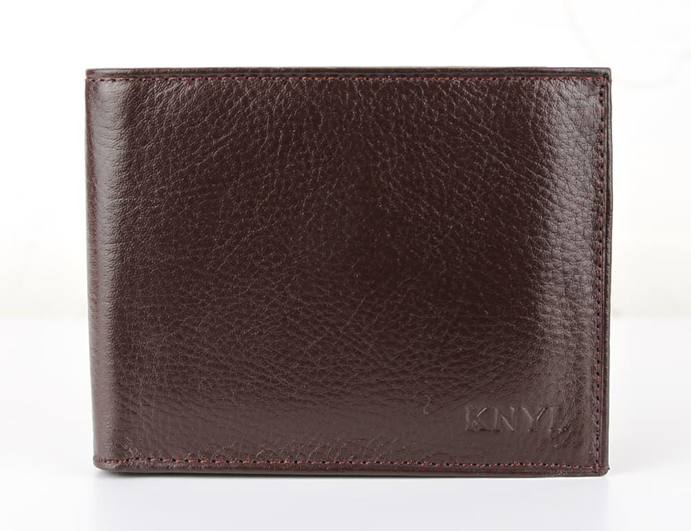 Мужской кошелек из натуральной кожи.CE1539 Coffe
