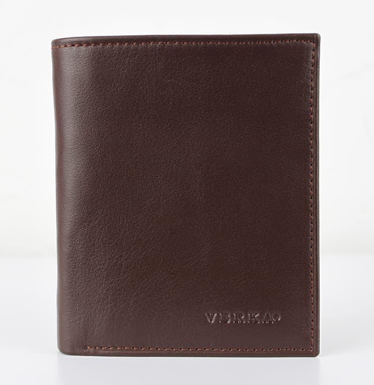 Мужской кошелек из натуральной кожи.CE1591 Black