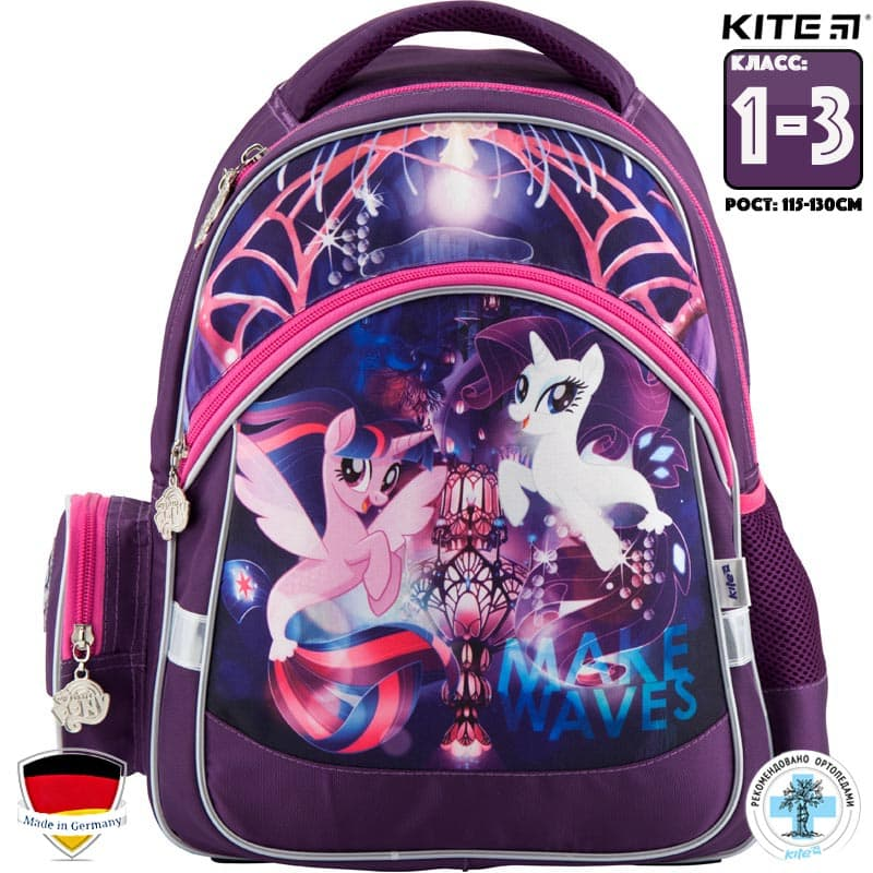 Rucsac ortopedic pt scoala Kite My Little Pony LP18-521S