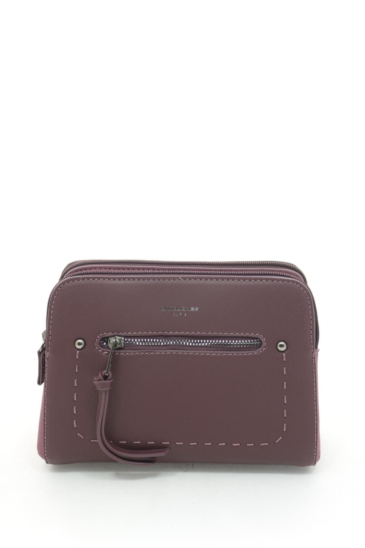 Клатч David Jones 5386 Dark Bordeaux