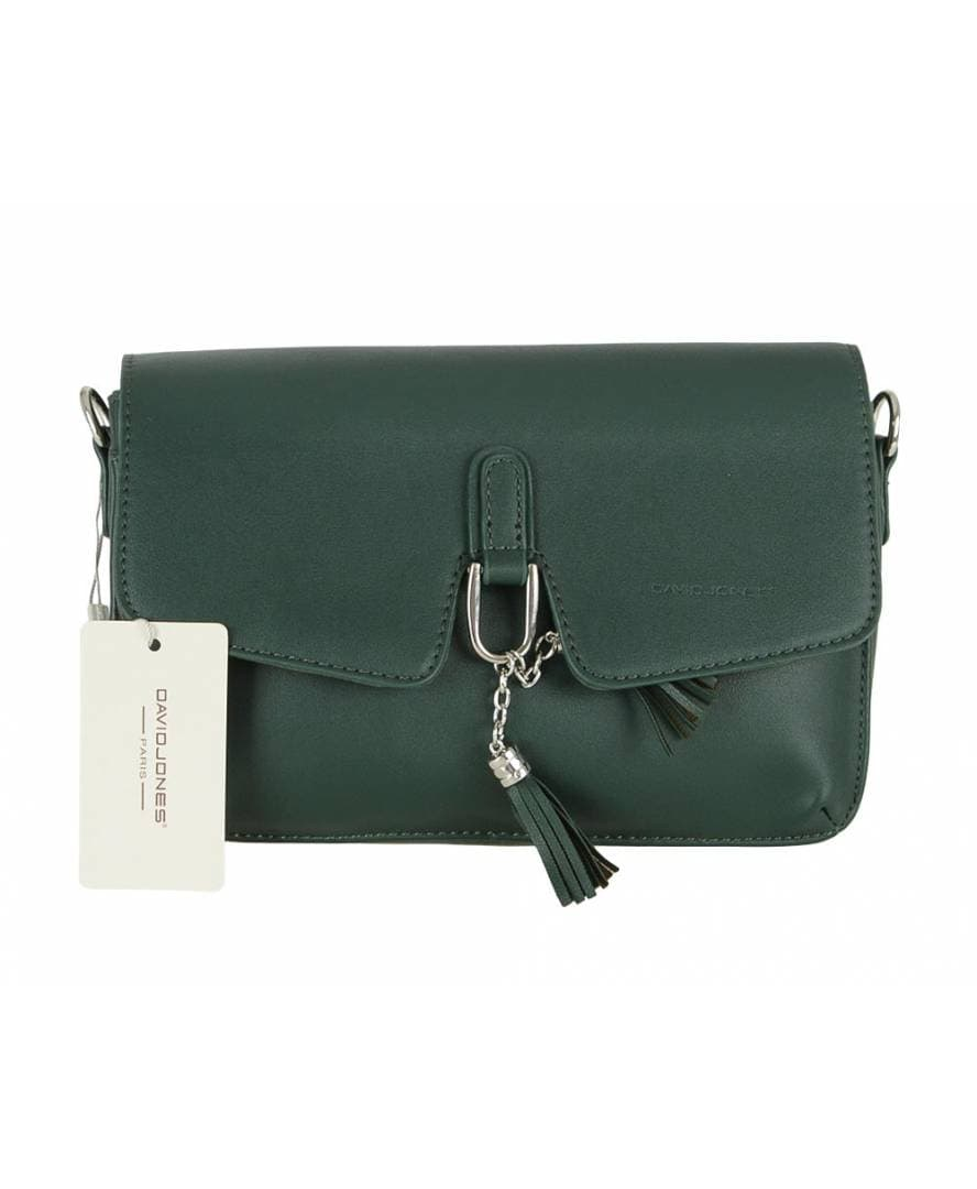 Geanta pt  dame DAVID JONES CM5414T D.GREEN