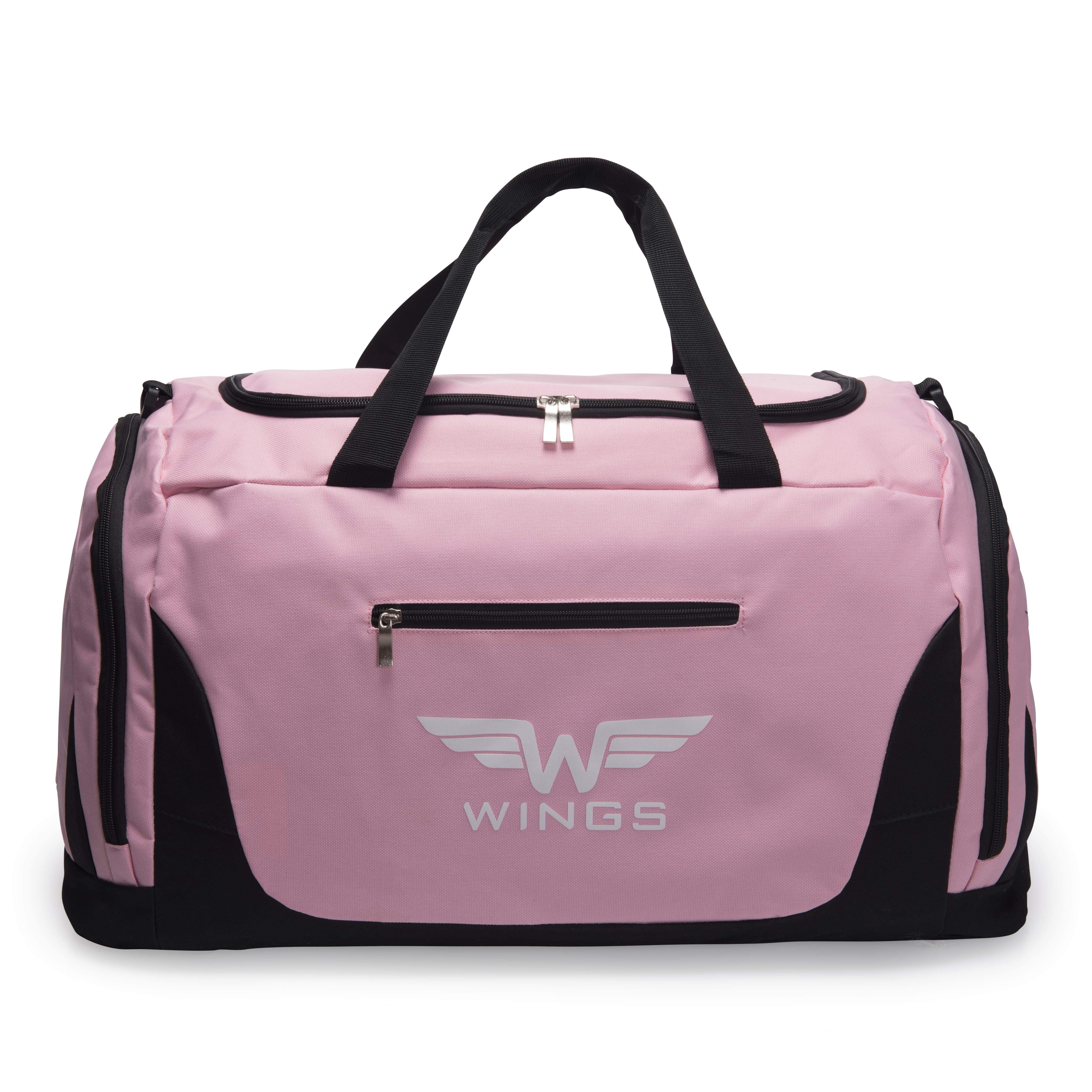 Дорожная сумка средная WINGS TB1005 M PINK