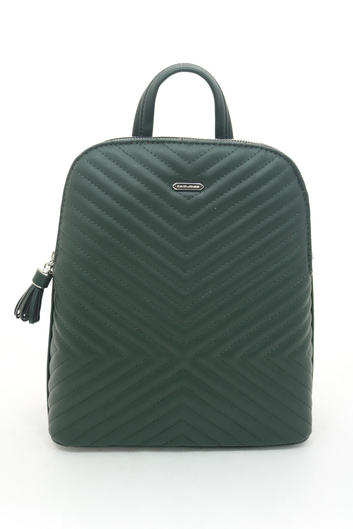 Женский рюкзак David Jones 6146-2T D.GREEN