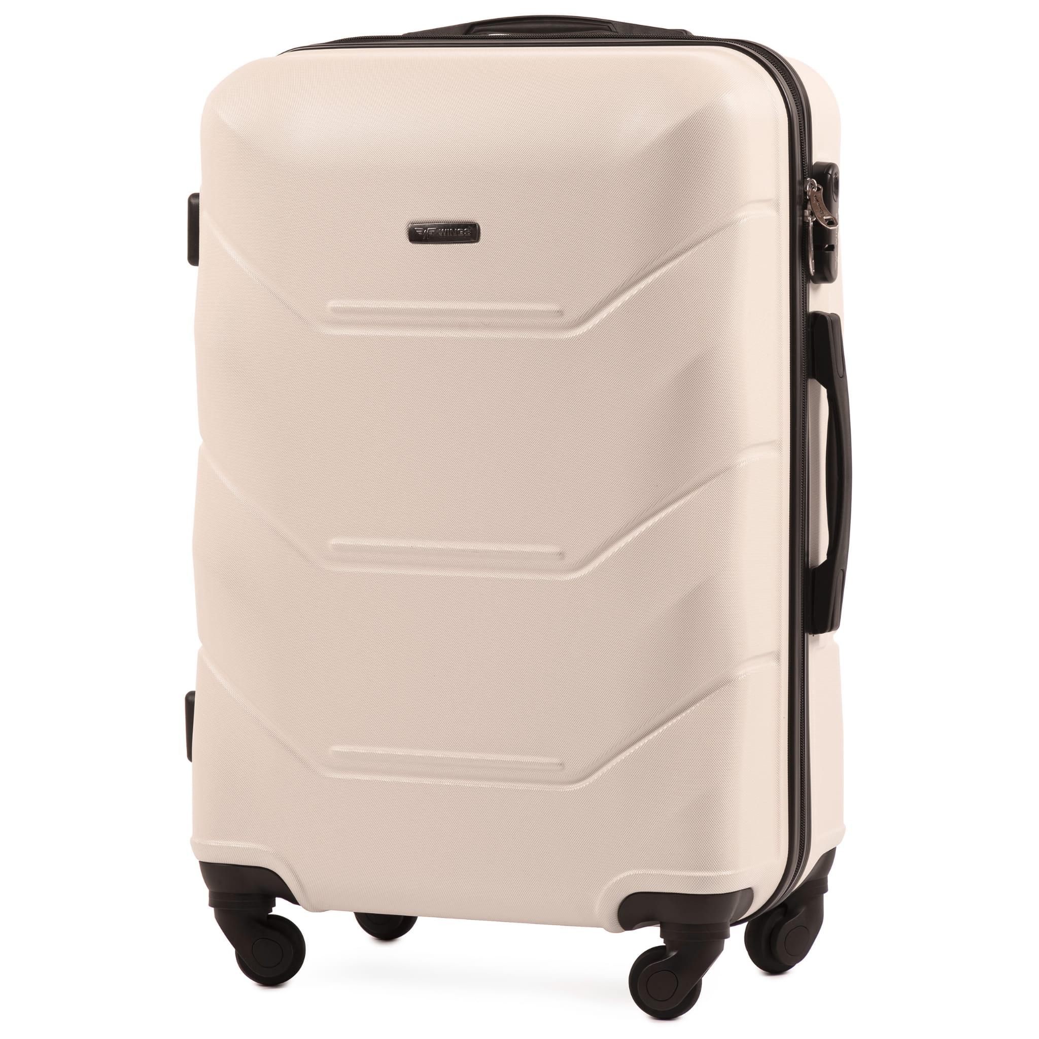 СРЕДНИЙ ЧЕМОДАН WINGS 147 M BLACK PREMIUM НА 4-Х КАУЧУКОВЫХ КОЛЕСАХ! Для багажа ,до 18 кг