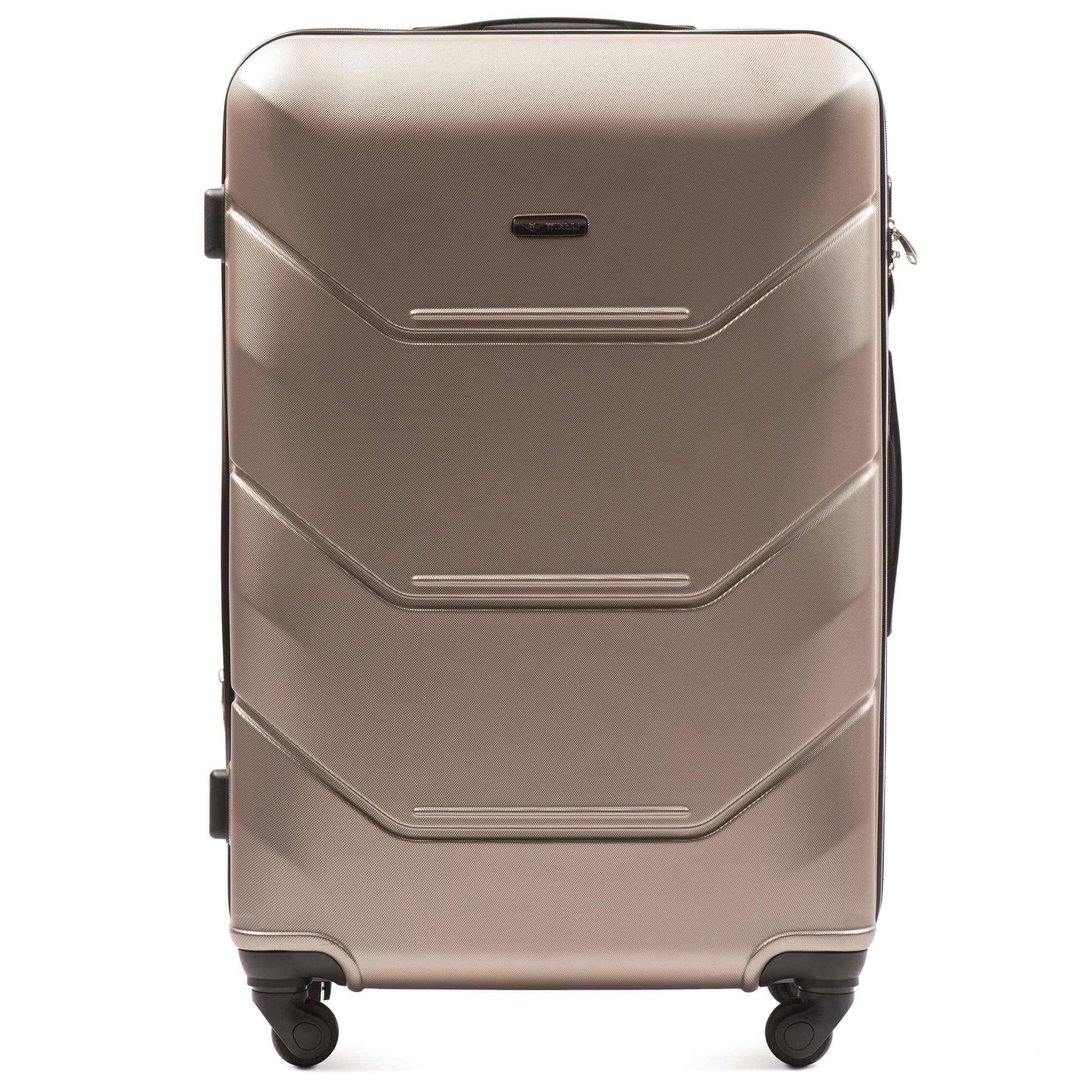Valiza mare WINGS 147 L Champany Premium pe 4 roti din cauciuc!Pt bagaj,pina la 23 kg