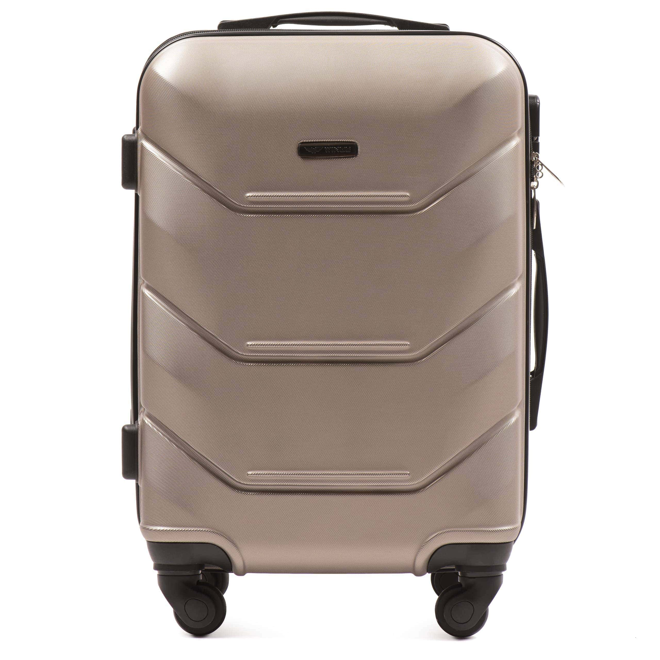Valiza mica WINGS 147 S Champany Premium pe 4 roti din cauciuc!Pt bagaj,pina la 7/10 kg