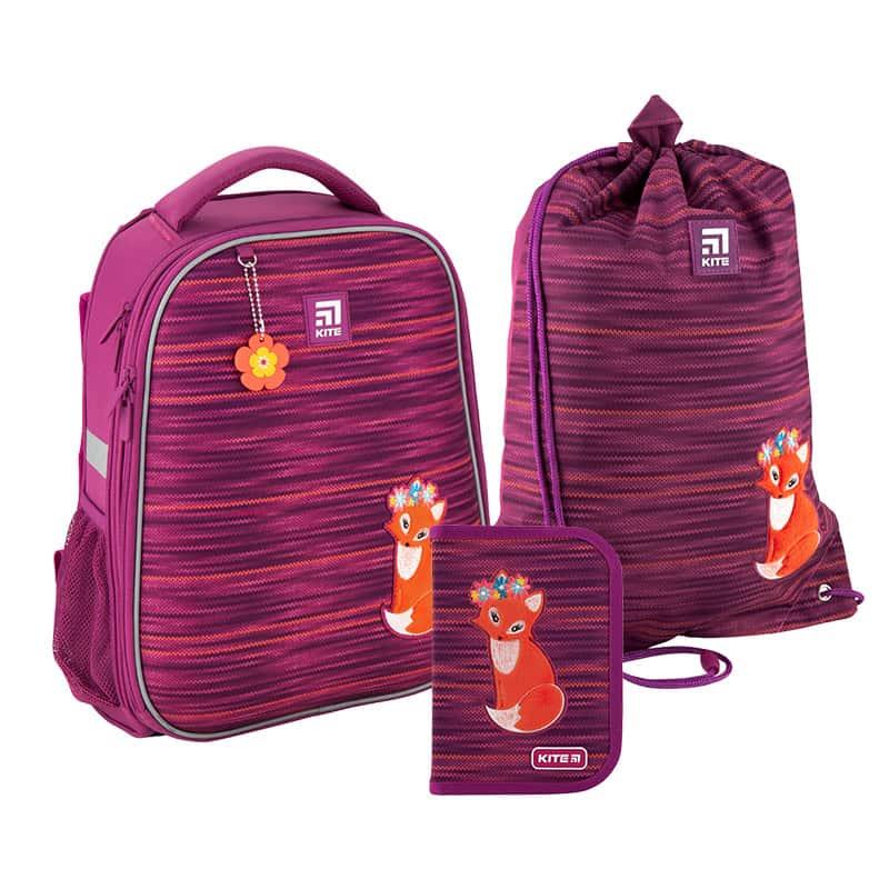 Школьный набор Kite.Ортопедический рюкзак пенал сумка SET_K20-531M-3