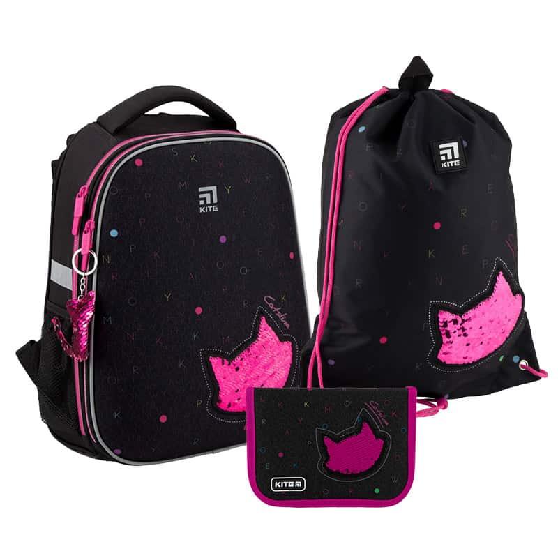 Школьный набор Kite.Ортопедический рюкзак пенал сумка SET_K20-531M-5