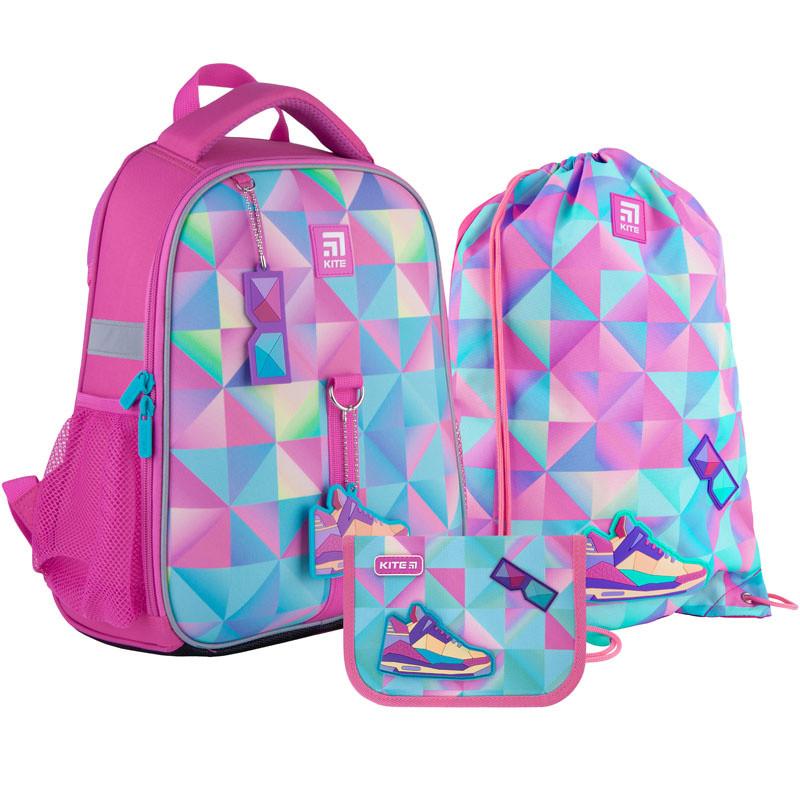 Школьный набор Kite  рюкзак пенал сумка SET_K21-555S-3