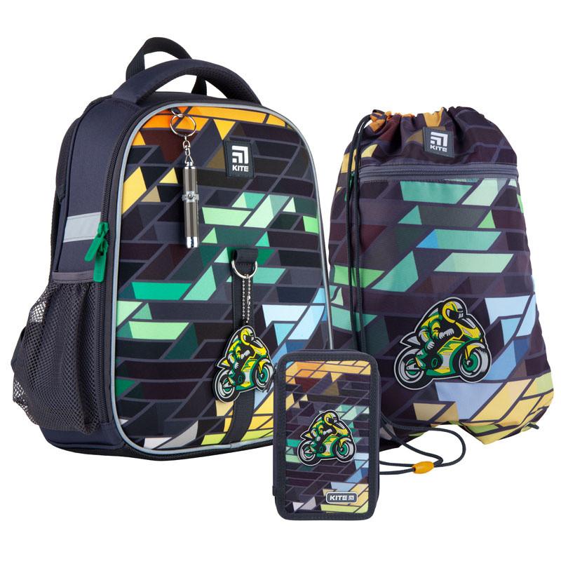 Школьный набор Kite  рюкзак пенал сумка SET_K21-555S-2
