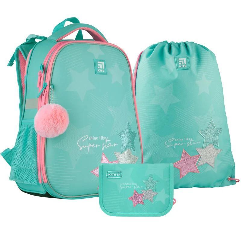 Школьный набор Kite.Ортопедический рюкзак пенал сумка SET_K21-531M-4