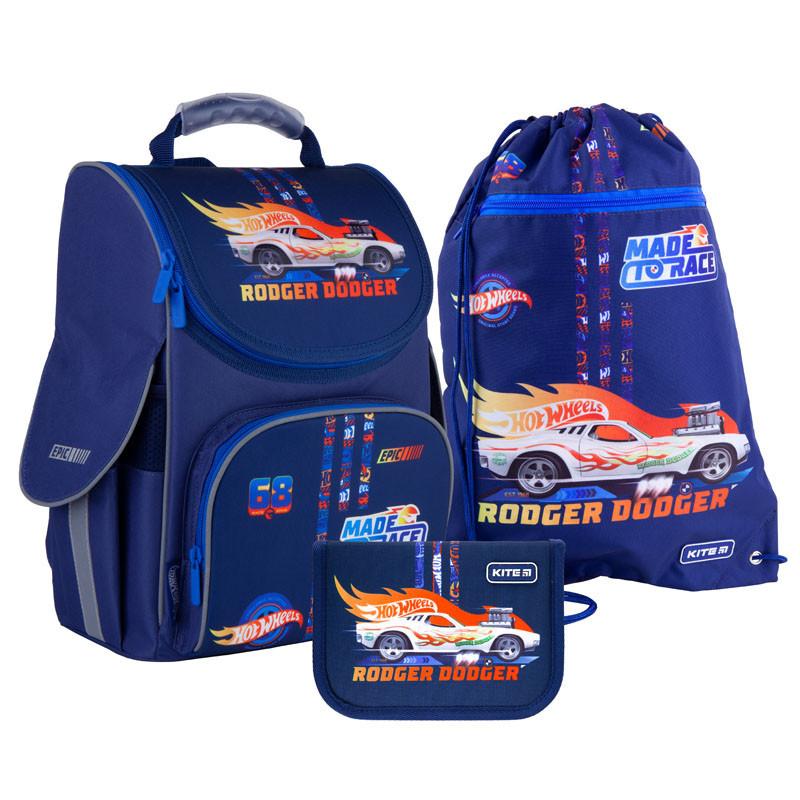Школьный набор Kite  рюкзак, пенал, сумка SET_HW21-501S