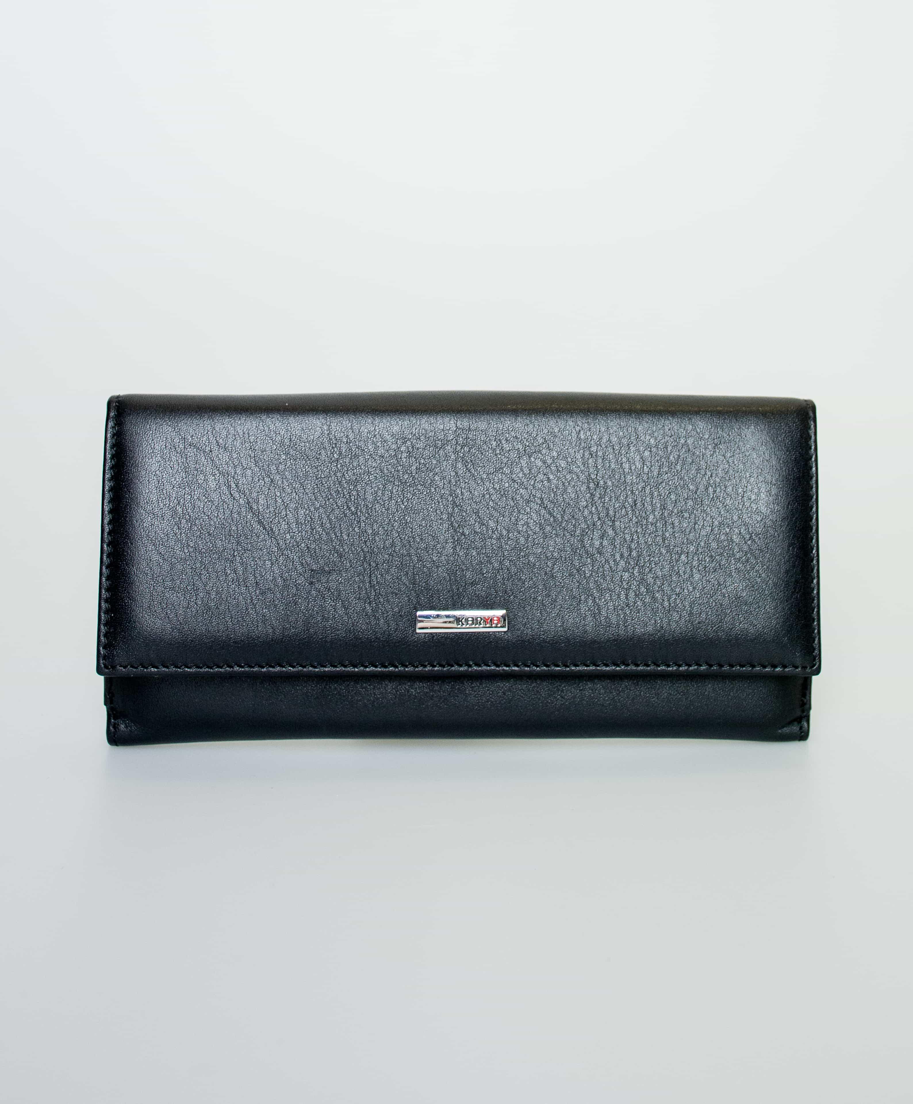 Женский кожаный кошелек KARYA.1141-122