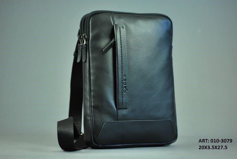 Мужская кожаная сумка BUONO 010-3079 BLACK