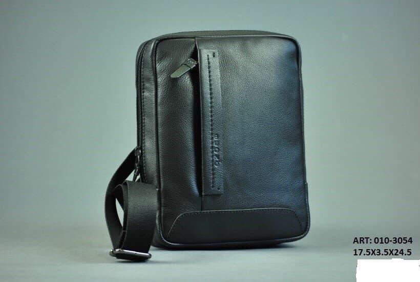 Мужская кожаная сумка BUONO 010-3054 BLACK